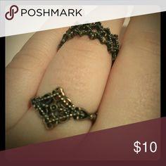 Two vintage rings Two vintage demure rings Jewelry Rings