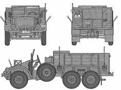 6 4 Truck Krupp Protze
