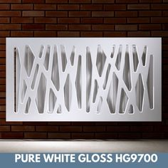 Stylish Removable Radiator Cover in Futuristic GEO Design hiding heater Radiator Heater Covers, Radiator Shelf, Old Radiators, Column Radiators, Geo Design, Modern Design, Wooden Drawers, Entry Hall, New Room