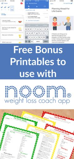 Food Lists Thinking about joining Noom Weight Loss Coach App Grab these printables to go with it!Thinking about joining Noom Weight Loss Coach App Grab these printables to go with it! Diet Plans To Lose Weight Fast, Weight Loss Diet Plan, Weight Loss Drinks, Weight Loss Plans, Fast Weight Loss, Healthy Weight Loss, Weight Loss Journey, Losing Weight, Reduce Weight