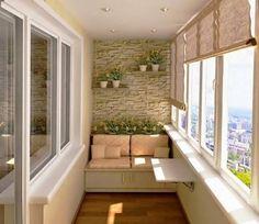 Idea para un balcón/terraza cerrado