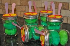 This is also beyond adorable -- homemade playdough very hungry caterpillars!