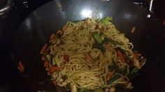 """Chicken Lo Mein! 5.00 stars, 1 reviews. """"was very easy and you think you got it from your nearest Chinese restaurant"""" @allthecooks #recipe"""
