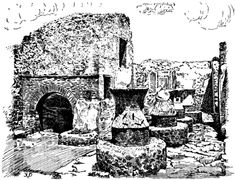 The Project Gutenberg eBook of Apicius: Cookery and Dining in Imperial Rome, by Joseph Dommers Vehling. Pompeii, Free Kindle Books, Joseph, Rome, Egypt, Greece, Dining, Cooking, Artwork