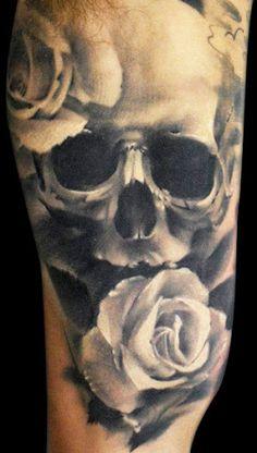 Realism Skull Tattoo by Matt Jordan?
