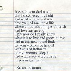YOUR ECLIPSE || written by SUSANA ZATARAIN