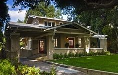 Airplane Bungalow style dates from the early 20th century and grew out of the Arts and Crafts Movement. Chalet Style Airplane Bungalow
