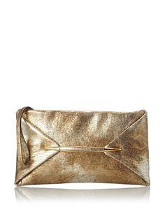 Nina Ricci Women's Texutred Metallic Small Clutch, Gold, http://www.myhabit.com/redirect/ref=qd_sw_dp_pi_li?url=http%3A%2F%2Fwww.myhabit.com%2Fdp%2FB00KM1NJDM
