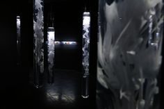 Contemporary art bu yunchul kim Solo exhibition in gallery LOOP seoul  <whiteout> More info  www.studio-locus-solus.net