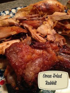 Fried Rabbit Turnips 2 Tangerines: Oven Fried RabbitRabbit hole A rabbit hole is a rabbit burrow. Rabbit hole may also refer to: Venison Recipes, Meat Recipes, Cooking Recipes, Rabbit Recipes, Quail Recipes, Cooking Games, Rabbit Recipe Oven, Smoker Recipes, Rabbit Dishes