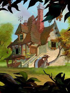 * Belle's house