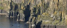 Rock formations of the Cliffs