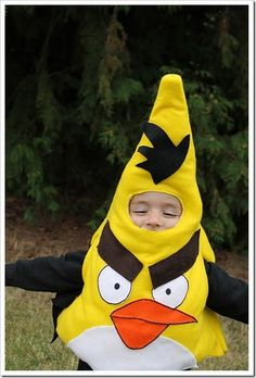 Angry Birds halloween costumes! Funny!