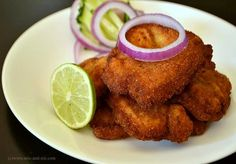 The Bengali Fish Fry - Made this last weekend! Added mint to the marinade plus some amchoor sprinkled on the fried fish.