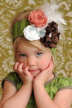 So cute ~ Love the Headband