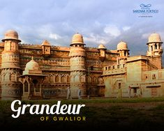 The ancient artistry of century can be seen in every corner of Gwalior Fort. Hotels Near, Taj Mahal, Places To Visit, Louvre, Corner, Explore, City, Building, Travel