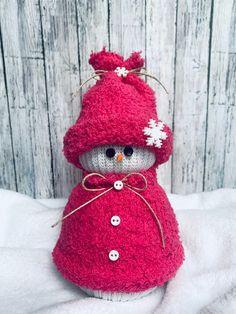 Sock Snowman Christmas Snowman   Etsy
