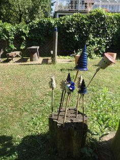 Local pottery in Buckow Outdoor Power Equipment, Germany, Pottery, Ceramica, Pottery Marks, Deutsch, Ceramic Pottery, Garden Tools, Pots