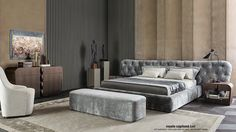 Our linen bed set for #CASAMILANO catalogue 2016 - styling @Bruno Tarsia