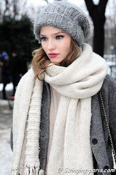 Sasha Luss Paris Haute Couture S/S 2013 Fashion Week, January 2013 #ParisianChic