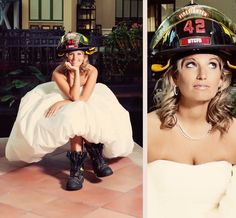 marry a firefighter. <3  MISSION ACCOMPLISHED :)  Although, this would have been a super cute pic to have taken....