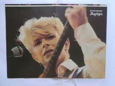 David Bowie John Andy Taylor Poster from Greek Mags clippings 1970s 1990s | eBay
