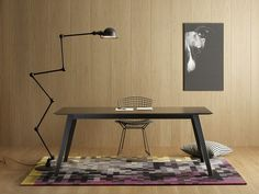 Wooden writing desk Aise Collection by TREKU | design Ibon Arrizabalaga