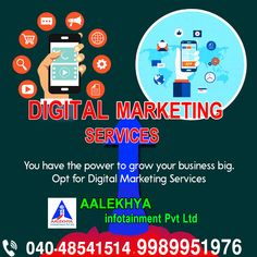 Best Digital Marketing Company, Digital Marketing Services, Seo Services, Online Marketing, Mobile Marketing, Growing Your Business, Hyderabad, Challenges, Training