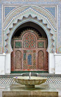 Qarawiyin Mosque in Fez