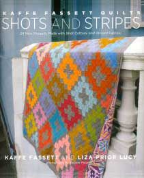 Shots and Stripes by Fassett - Chimney Sweep pattern. My favorite!!!