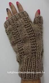 Resultado de imagem para mittens para homem em trico