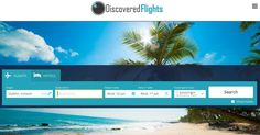 Discovered Flights find you the best comparison prices for hotels, flights, cruises, rental cars and more. http://discoveredflights.com/