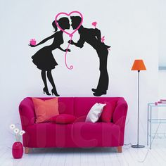 Wall Sticker LOVE COUPLE by Sticky!!!