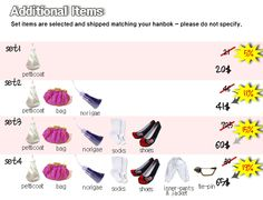 Korean traditional dress(hanbok) accessoires - petticoat, bag, norigae, socks