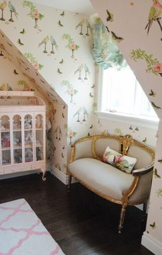"""Nina Campbell """"Perroquet"""" – Ava's Room / #projectlittlemiss 