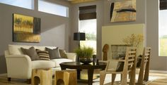 Entzuckend Moderne Farben Für Wohnzimmer 2015 Buttergelb Grau