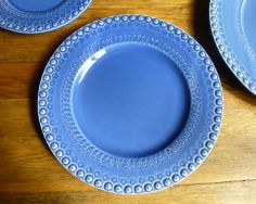 CE Corey Bordallo Fantasia Blue Dinner Plate - CE Corey Bordallo by Dinnerware Classics, Inc.  -- 11 1/4 inch dinner plate