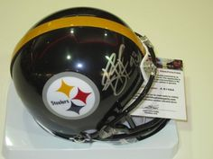Troy Polamalu Pittsburgh Steelers Signed Autographed Mini Helmet Authentic Certified Coa by All-Star Sports Memorabilia. $99.99. YOU ARE LOOKING AT A NICE SIGNED MINI HELMET COMES WITH COA AND 100% SATISFACTION.