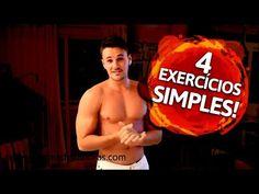 4 Simples Exercícios para Detonar Sua Gordura Indesejada: Q48 - YouTube