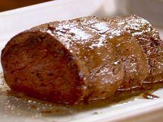 Filet of Beef Recipe : Ina Garten : Recipes : Food Network Ina Garten Beef Tenderloin, Beef Tenderloin Recipes, Beef Tenderloin Roast, Roast Beef, Beef Dishes, Food Dishes, Main Dishes, Meat Recipes, Cooking Recipes