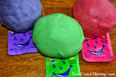 No Cook Play Dough Recipe...smells great too!
