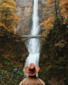 Live to bless, not to impress.  Caught this random older guy taking it all in at Multnomah Falls the other day; a sacred moment.