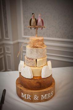 Cheese & Pork Pie Wedding Cake