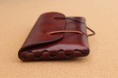 ORI the leather EDC Pouch you build yourself... with a little help