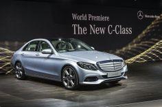 New Mercedes C-Class Arrives in Detroit: NAIAS 2014 » Motorward