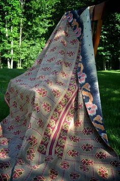 Made from vintage saris