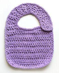 Crochet Spot » Blog Archive » Free Crochet Pattern: Classic Baby Bib - Crochet Patterns, Tutorials and News
