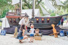 Pirates, treasure hunters swarm Vero's Riverside Park
