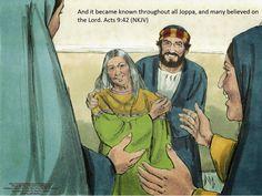 Bible Fun For Kids: Peter Heals Aeneas & Dorcas