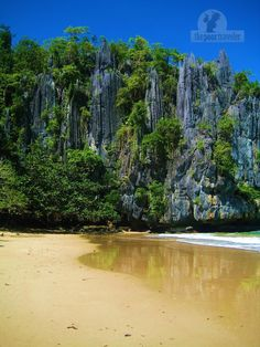 Puerto Princesa Subterranean River National Park: A World Wonder in Palawan, Philippines Most Beautiful Beaches, World's Most Beautiful, The Places Youll Go, Places To See, Puerto Princesa Subterranean River, Philippines Palawan, Places Of Interest, Island Beach, Beach Pictures